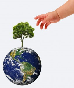 one world, one community, baby and globe, baby and world, baby and planet